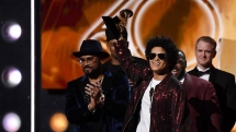 bruno mars kendrick lamar the big winners at grammy awards