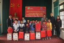 kfhi vietnam offers tet gifts for underprivileged children in vinh phuc