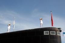 vietnam holds flag raising ceremony for submarines