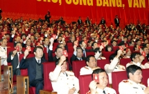 expatriates in laos believe in 12th national party congress