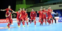 vietnam beats two time defending champions japan to enter futsal world cup finals