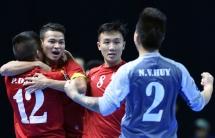 FIFA cheers Vietnam on ticket to Futsal World Cup 2016