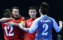 fifa cheers vietnam on ticket to futsal world cup 2016