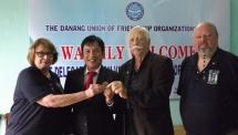Vietnam Veterans of America representatives visit Da Nang