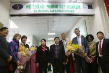 uk helps vietnam set up national antimicrobial resistance reference laboratory