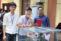 students invent smart henhouse to breed chickens