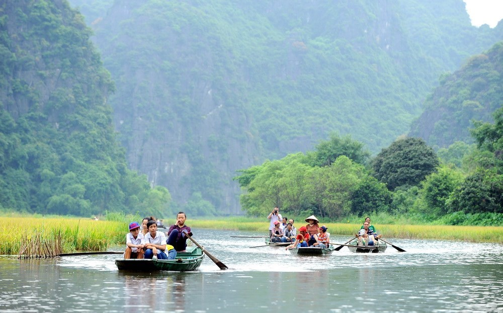 Trang An - meeting place of river and mountains