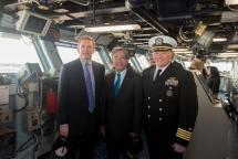 vietnamese ambassador to us visits aircraft carrier in norfolk