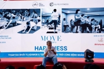 move for happiness held to support cancer patients