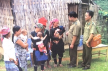 border guard steady support for ethnic minorities in border areas