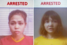 Kim Jong-nam assassination: Vietnamese and Indonesian women charged with murder