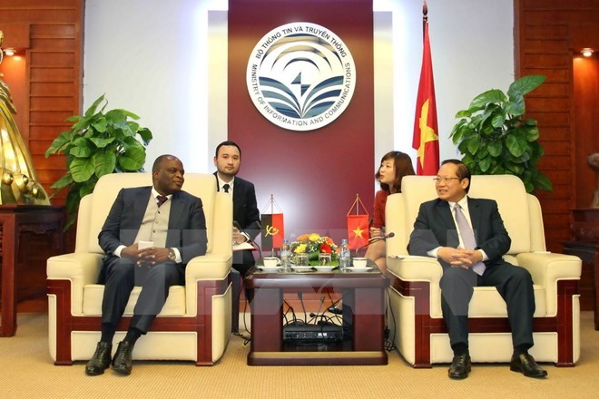 Vietnam – Angola to boost IT, telecommunication cooperation