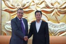 moroccan ambassador seeks vufos supports in chartering vietnam morocco friendship association