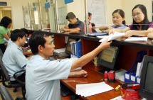 the trade customs clearance in tan thanh border gate restored its normal