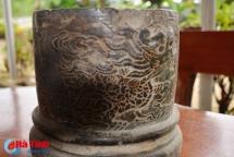 ha tinh discovers nguyen eras incense holder