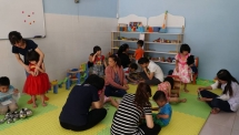 wwo launches 12th toy library in vietnam