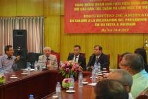 vietnam cuba exchange opens in hanoi highlighting the unchanged friendship