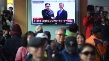 kim moon meet at start of historic inter korean summit