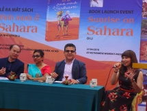 writer brings sunrise on sahara to vietnamese readers