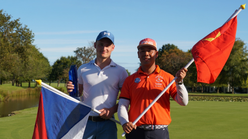 Vietnamese golfer runner-up at South Africa golf tourney