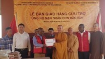 vietnamese buddhists send aid to mozambiques storm victims