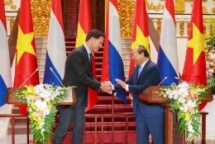 vietnam netherlands agree to lift ties to comprehensive partnership