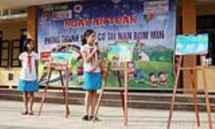 project renew quang ngai red cross chapter educate people about dangers of landmines