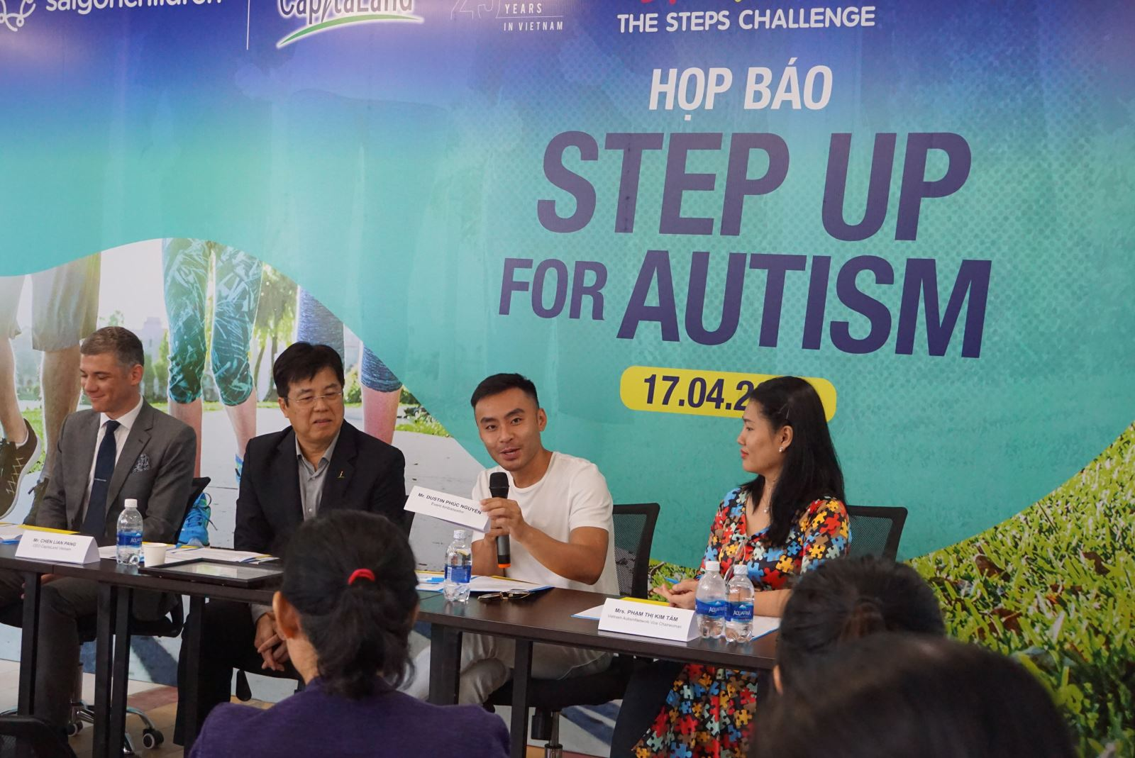 Give a fairer care to children with autism with The Steps Challenge