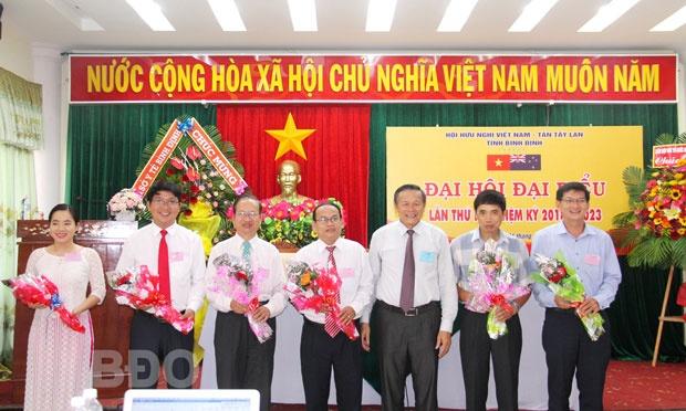 Binh Dinh's Vietnam – New Zealand Friendship Association hold congress