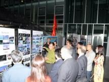 photomaterial exhibition on truong sa hoang sa archipelagoes in germany