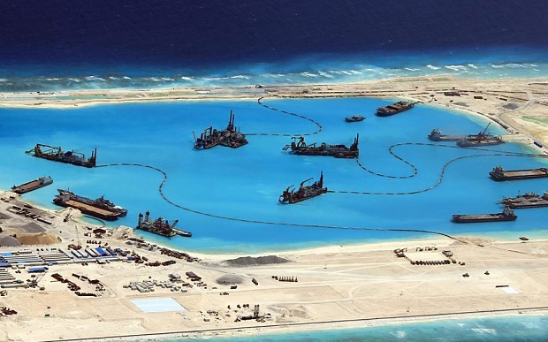 South China Sea tension threatens regional peace, security