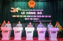dien bien television officially broadcast via vinasat 1 satellite