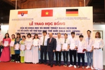 more than 90 outstanding students in hanoi receive hessen scholarships