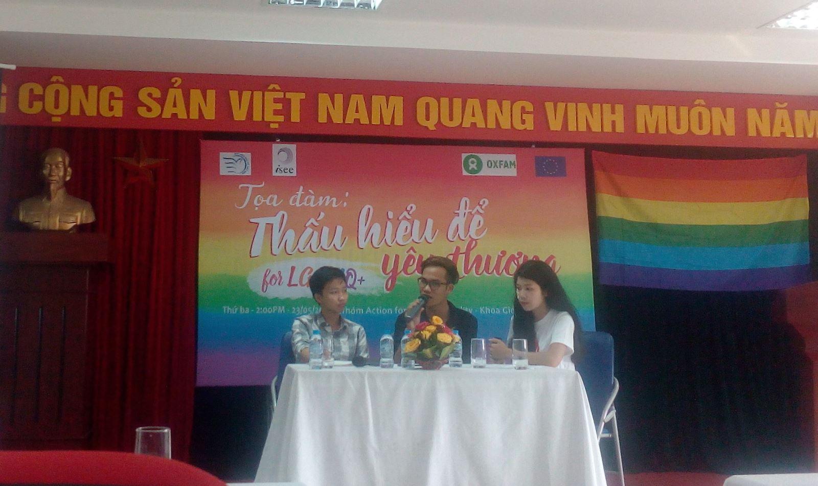 Vietnam university seminar: Creating an LGBT-inclusive school climate