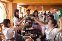 ba na mountain hosts beer festival