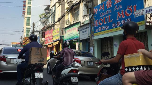 A Korean neighborhood in Saigon