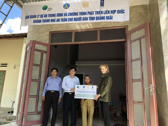 UNDP provides Quang Ngai residents with safe homes