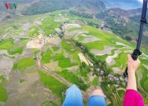 stunning aerial views of mu cang chai terraces