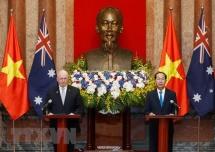 Vietnam, Australia resolved to advance relationship