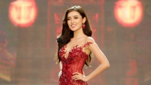 huyen my among top 32 of miss grand slam 2017