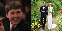 neville longbottom marries american girl he met at the wizarding world of harry potter