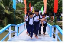 the reach bringing dream bridge to people of thua thien islet vinh long province