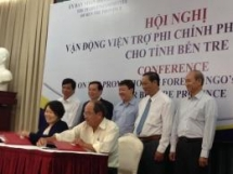 ben tre province attracts of foreign ngos funding projects