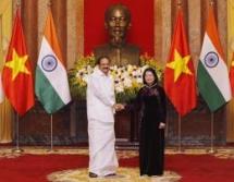 vietnam india work toward two way trade of 15 billion usd