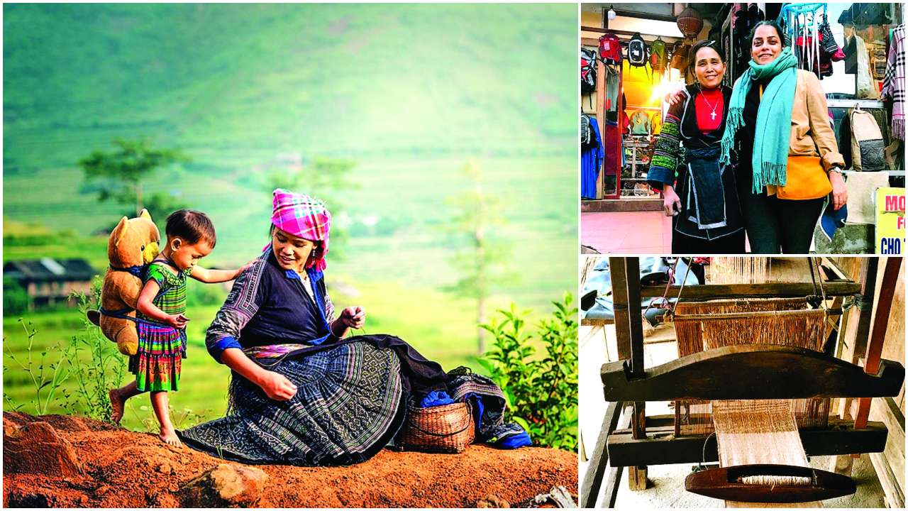 How Vietnam's Sapa Valley inspired a collection for Lakme Fashion Week