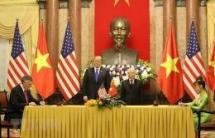 vietnam us sign cooperation agreements worth usd 21 billion