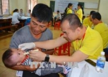 free surgeries for children with cleft lip palate in ninh binh