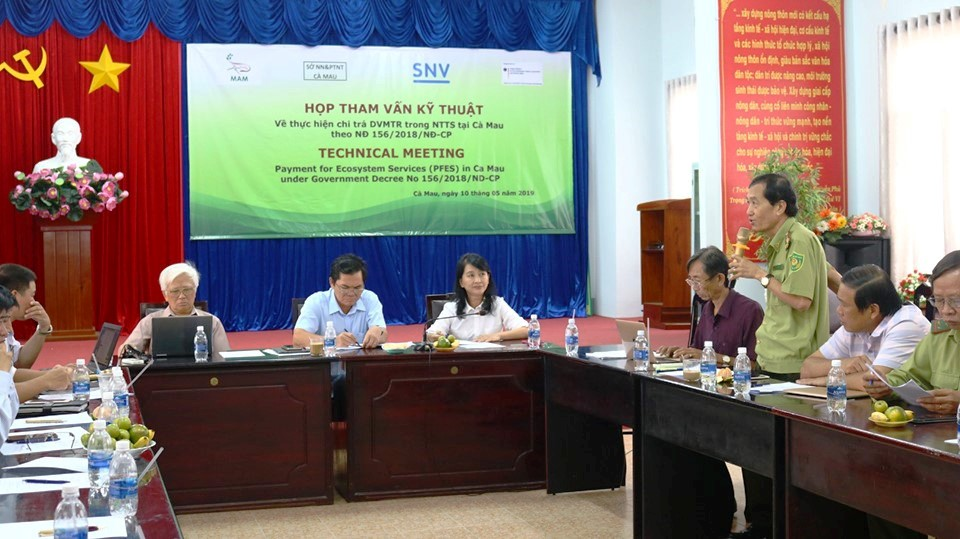 PFES policy in Ca Mau creates economic incentives for shrimp farmers