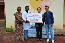 vietnamese cuban embassies present gifts to tanzanian orphans