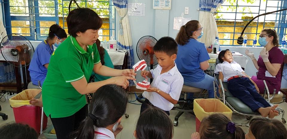 International volunteers provide dental care for Quang Nam locals